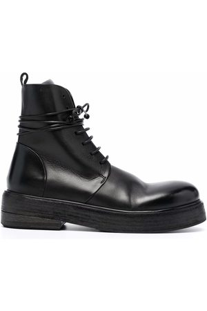 MARSÈLL Naiset Nauhalliset saappaat - Lace-up ankle-length boots