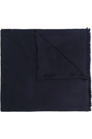 Saint Laurent Naiset Huivit - Logo plaque wool scarf