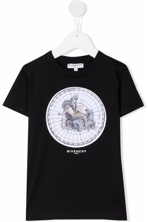 Givenchy T-paidat - Poseidon print T-shirt