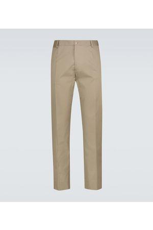 Dolce & Gabbana Miehet Chinot - Stretch-cotton pants