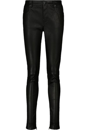 Tom Ford High-rise skinny leather pants