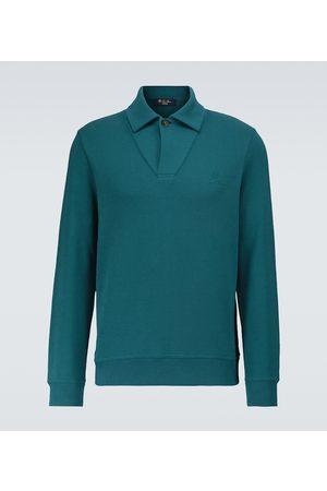 Loro Piana Horsey® long-sleeved polo sweater