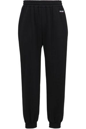 KOCHÉ Logo Cotton Jersey Sweatpants