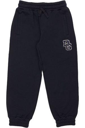 Dolce & Gabbana Pojat Collegehousut - Logo Cotton Sweatpants