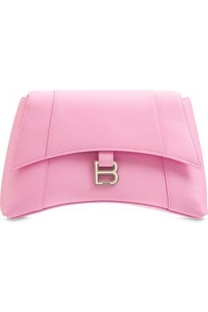 Balenciaga Naiset Olkalaukut - Small Soft Hour Leather Shoulder Bag