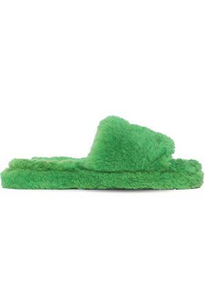 Bottega Veneta Miehet Sandaalit - Teddy Shearling Slide Sandals