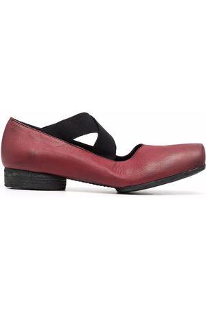 UMA WANG Naiset Balleriinat - Crossover-strap ballerina shoes