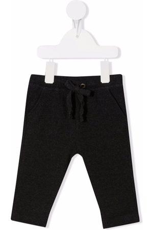 Zhoe & Tobiah Drawstring cotton-blend track pants