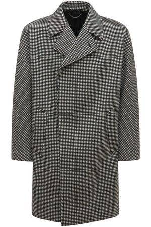 Dunhill Double Breasted Wool Cashmere Coat