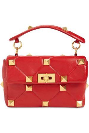 VALENTINO GARAVANI Naiset Olkalaukut - Medium Roman Stud Leather Shoulder Bag