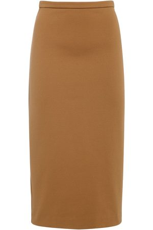 Max Mara Naiset Kynähameet - Jersey Pencil Midi Skirt