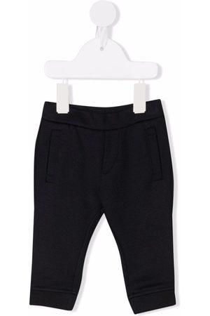 Emporio Armani Housut - Embroidered logo track pants