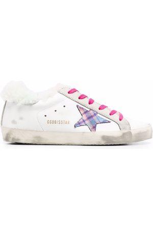 Golden Goose Naiset Tennarit - Faux-fur Super-Star sneakers