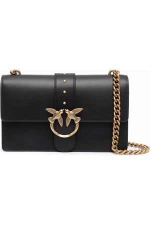 Pinko Naiset Olkalaukut - Leather Love Icon crossbody bag