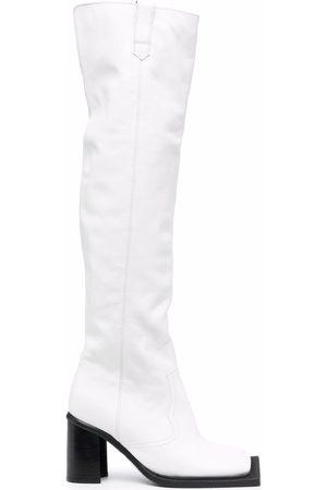 Ninamounah Howling 80mm knee-high boots