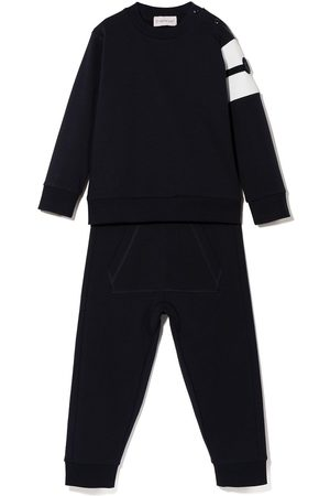 Moncler Vauvat Topit - MONCLER BABY BOY RN L/S TOP AND TRACKSUI