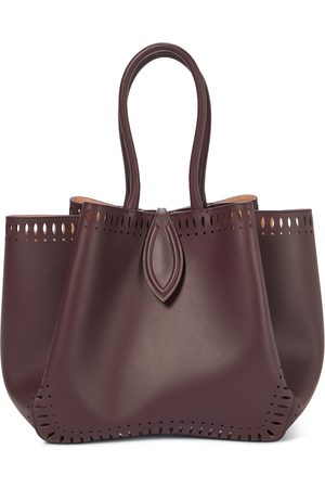 Alaïa Angèle 25 leather tote