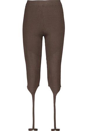 Jacquemus Le Collant Alba stirrup leggings