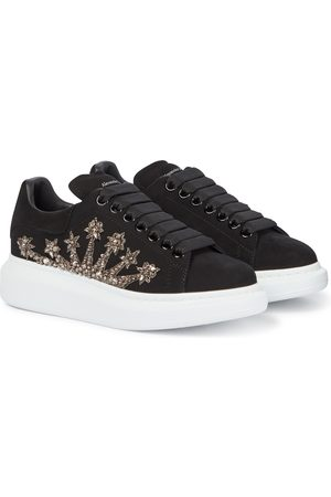 Alexander McQueen Oversized crystal-embellished sneakers