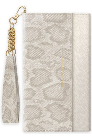 Ideal of sweden Signature Clutch iPhone 11 Pearl Python