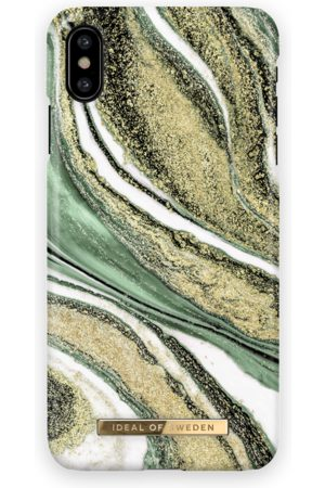 Ideal of sweden Fashion Case iPhone X Cosmic Green Swirl