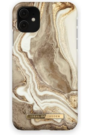 Ideal of sweden Fashion Case iPhone 11 Golden sand marble