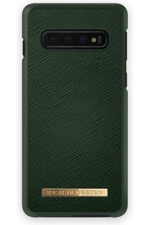 Ideal of sweden Naiset Puhelinkuoret - Saffiano Case Galaxy S10+ Green