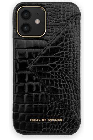 Ideal of sweden Statement Case iPhone 12 Neo Noir Croco Flap Pocket