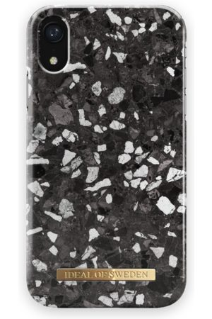 Ideal of sweden Fashion Case iPhone XR Midnight Terazzo