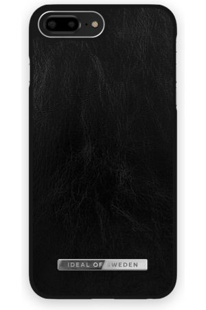 Ideal of sweden Atelier Case iPhone 8 Plus Glossy Black Silver