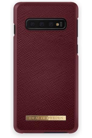 Ideal of sweden Saffiano Case Galaxy S10 Burgundy