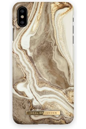 Ideal of sweden Fashion Case iPhone X Golden sand marble