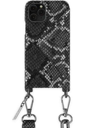 Ideal of sweden Statement Phone Necklace Case iPhone 11 Pro Black Silver Snake