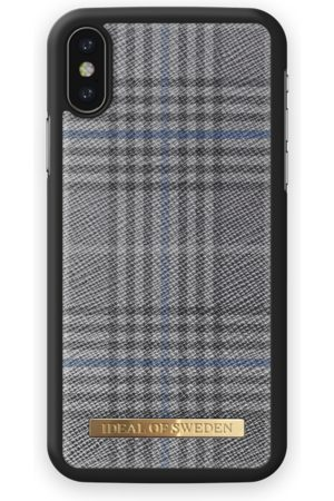 Ideal of sweden Oxford Case iPhone X Grey