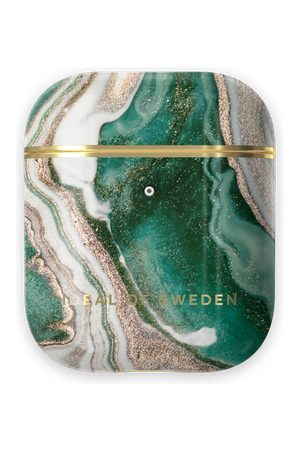 Ideal of sweden Fashion Airpods Case Golden Jade Marble