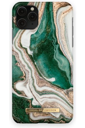 Ideal of sweden Fashion Case iPhone 11 Pro Max Golden Jade Marble