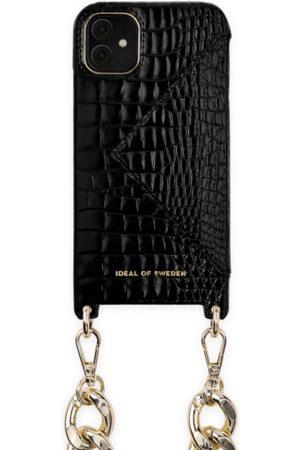 Ideal of sweden Necklace Case iPhone 11 Neo Noir Croco