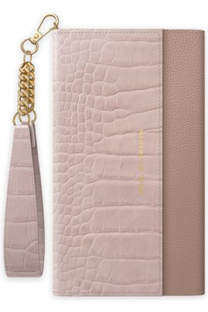 Ideal of sweden Signature Clutch Galaxy S10+ Misty Rose Croco