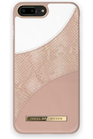 Ideal of sweden Atelier Case iPhone 8 Plus Blush Pink Snake