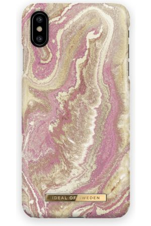 Ideal of sweden Fashion Case iPhone XS Max Golden Blush Marble