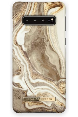 Ideal of sweden Fashion Case Galaxy s10 Golden sand marble