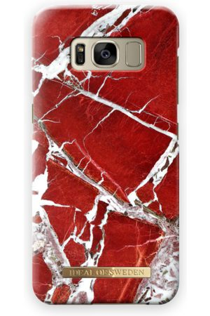 Ideal of sweden Fashion Case Galaxy S8 Scarlet Red Marble