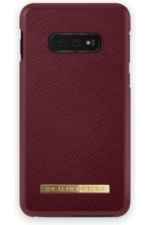 Ideal of sweden Saffiano Case Galaxy S10E Burgundy