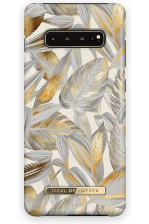 Ideal of sweden Fashion Case Galaxy S10+ Platinum Leaves