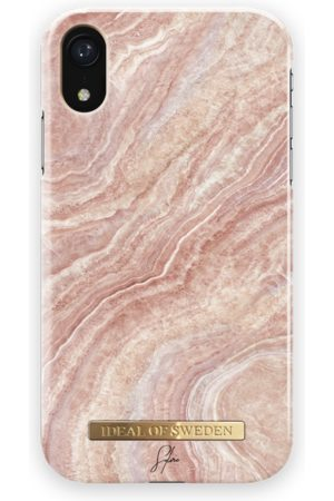 Ideal of sweden Fashion Case Sylvie Meis iPhone XR Rosy Reef Marble