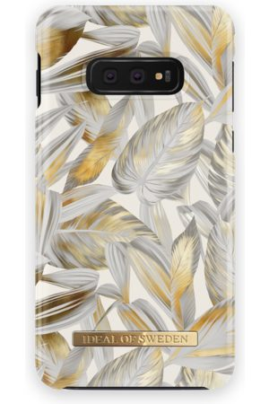 Ideal of sweden Fashion Case Galaxy S10E Platinum Leaves