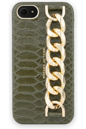 Ideal of sweden Statement Case iPhone 8 Green Snake - Chain handle