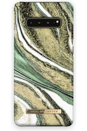 Ideal of sweden Fashion Case Galaxy S10+ Cosmic Green Swirl