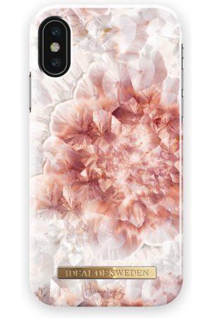 Ideal of sweden Fashion Case Hannalicious iPhone X Rose Quartz Crystal
