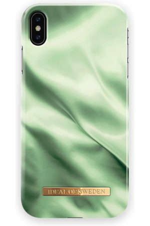 Ideal of sweden Fashion Case iPhone XS MAX Pistachio Satin
